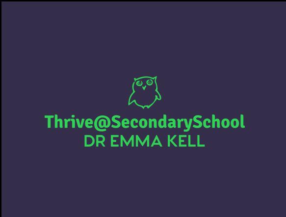 Logo Thrive@SeondarySchool